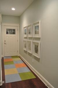 Entry Hall - looking towards the door