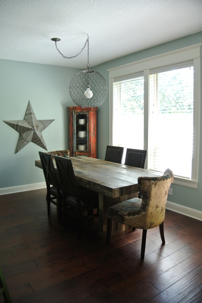 New light over dining table