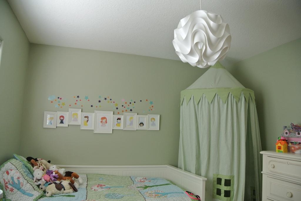 New light in Grace's room