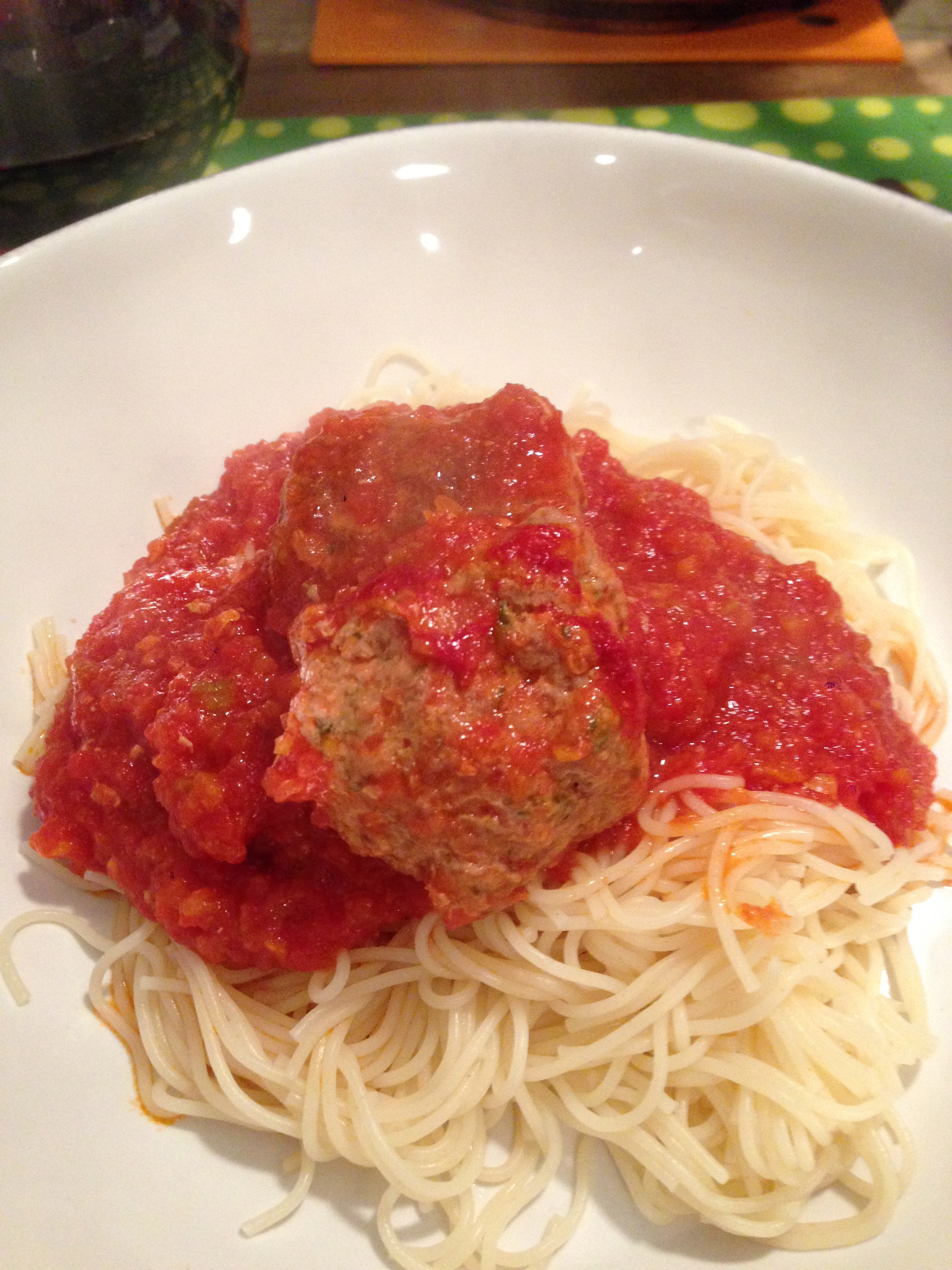 …and, THIS is Exciting! (Yes, meatballs.)