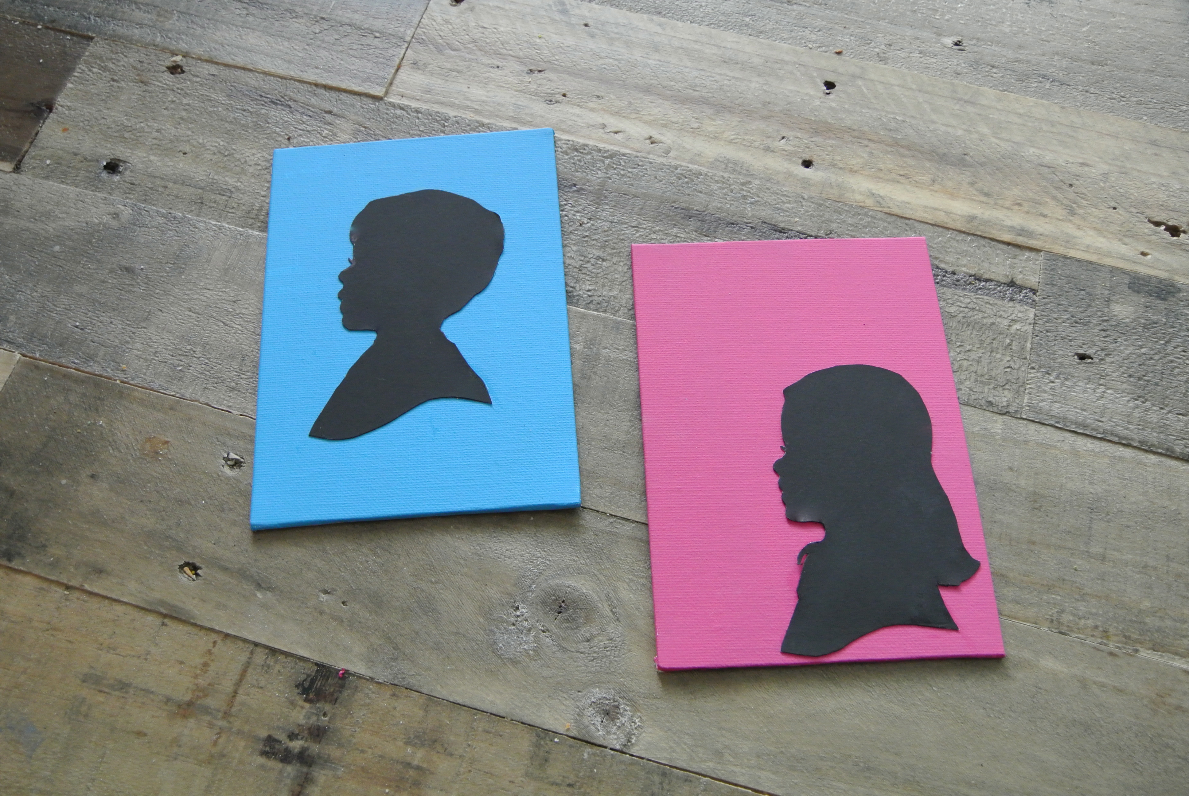 Art Project: Silhouettes to Help Brave Maeve