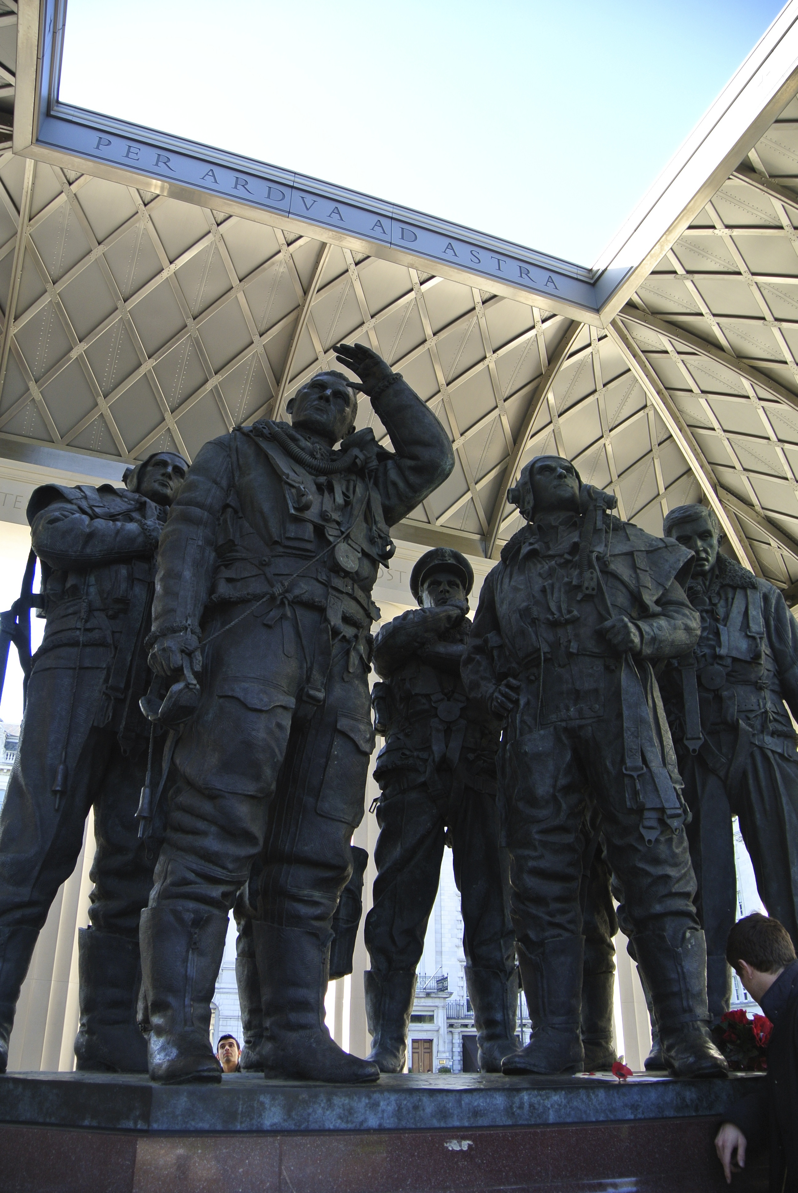 On the Road – London: Royal Air Force Bomber Command Memorial