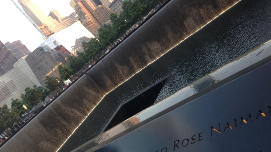 National 9/11 Memorial Reflecting Pool