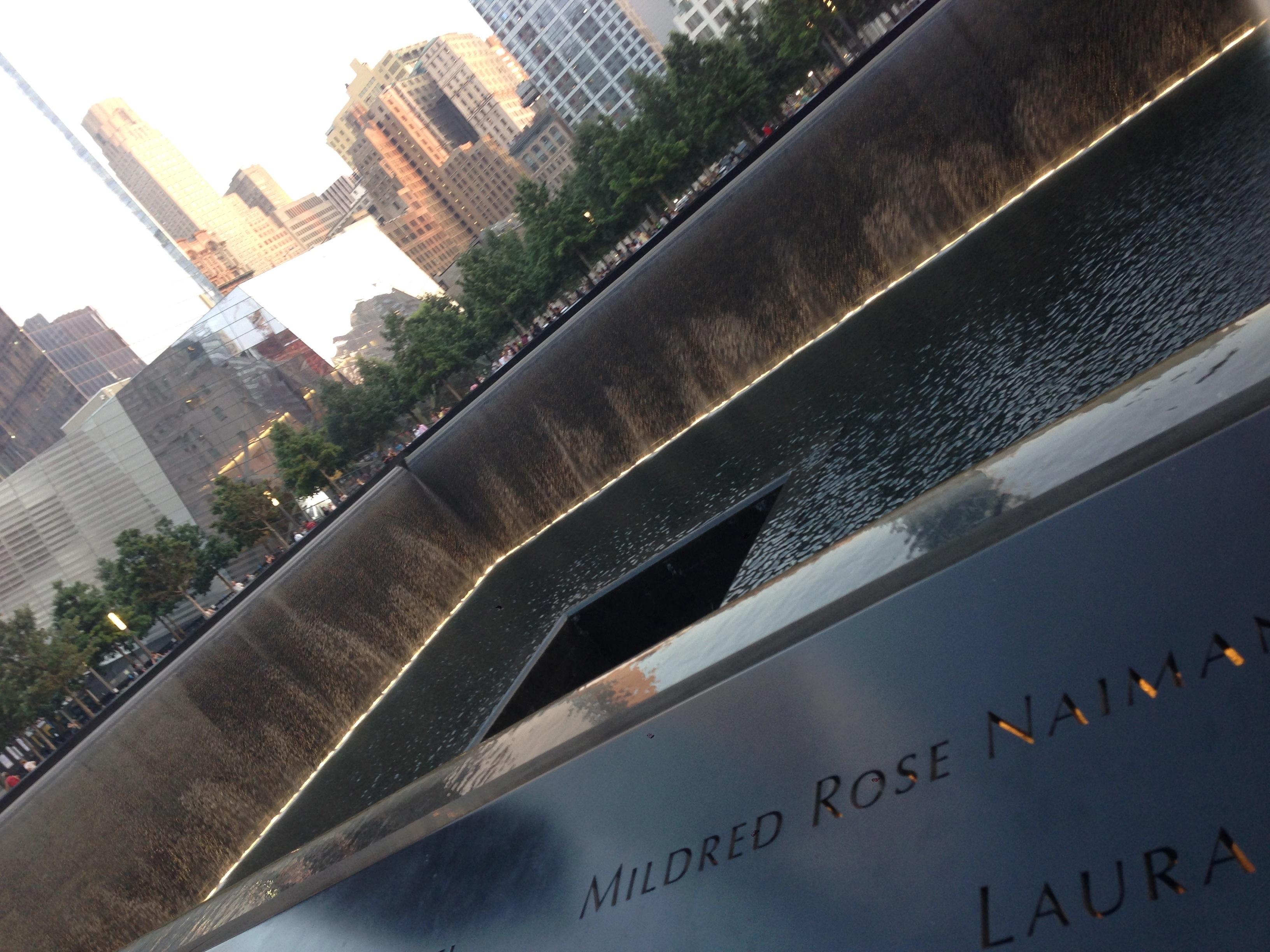 National 9/11 Memorial Area in Photos