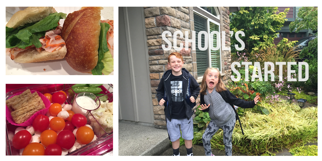 First Day of School: This Year, They're OK