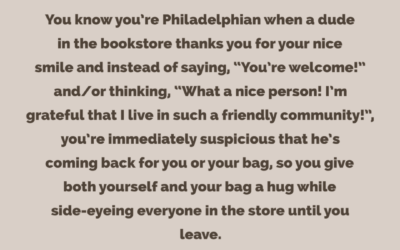 Perfect Strangers & The Proper Philadelphia Response